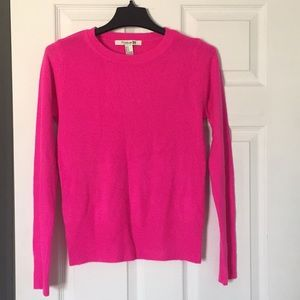 Forever 21 bright pink sweater